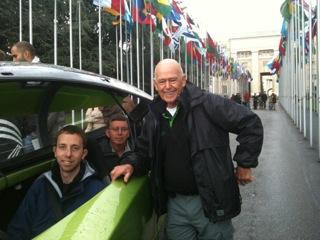 Keith at the Zero Race start in Geneva