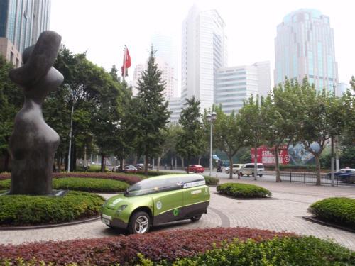 Trev in Shanghai